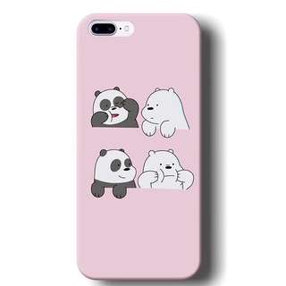 We Bare Bears Phone case(Apple, Samsung, Oppo and Huawei)