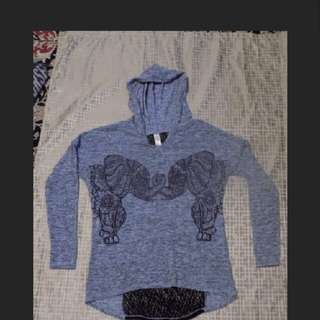 Hooded Lace Shirt