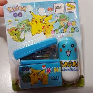 Mini Stapler & Bullets 20mm Pokemon