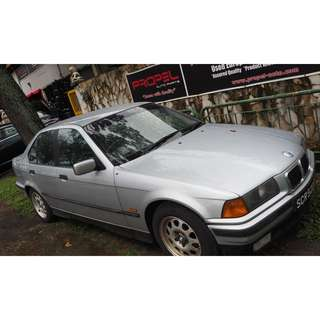 ORIGINAL USED BMW E36 316i M43 1998 PARTS FOR SALE (07021)