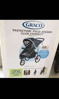 GRACO JOGGER STROLLER AT LOWEST PRICE MUST GO!!!!!