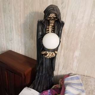 直身死神枱燈,英國買