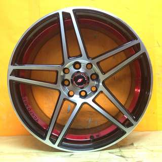 17 inch SPORT RIM Tck225 RACING FORGED WHEELS