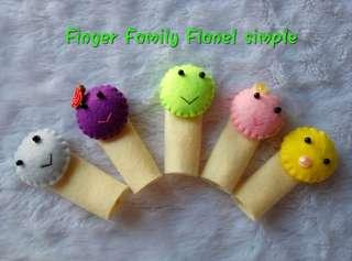 Boneka jari finger family