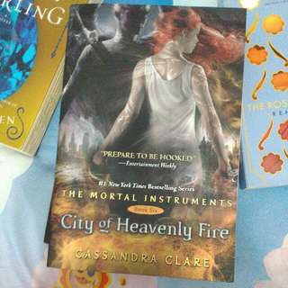 (Novel Import/inggris) City of heavenly fire ; Mortal instrument 6 ; Cassandra Clare