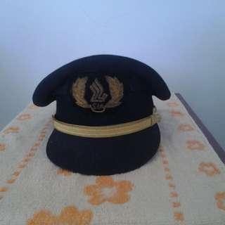 SIA pilot hat