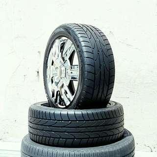 Used 195/60 R16 Bridgestone (2pcs) 🙋♂️