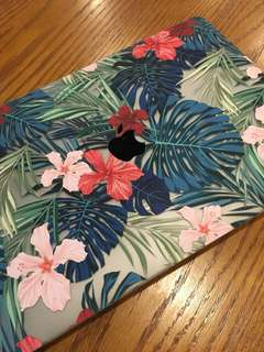 Floral laptop case from Slick Case
