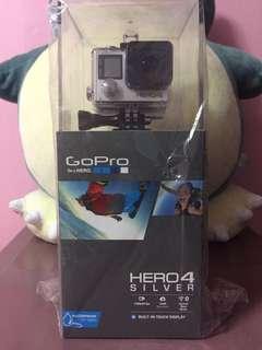 GoPro Hero4 Silver (BNIB)