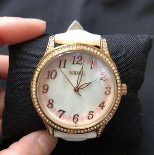 Solvil ladies bling bling quartz watch