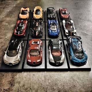 1:64 HYPERCAR COLLECTION 三大極速超跑經典模型車組合 整套