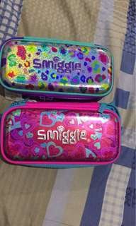 Smiggle pencil case brand new 2 zipper