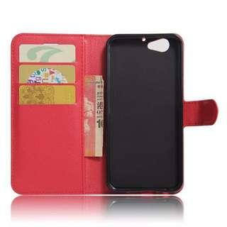 HTC ONE A9S 紅色手機皮套
