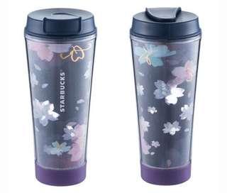 Starbuck櫻花系列「超限量」✨夜櫻燦燦LED隨行杯✨