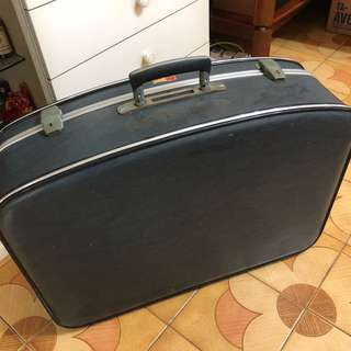 Vintage Luggage travelling bag (BLUE)