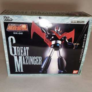 Bandai Great Mazinger gx 02