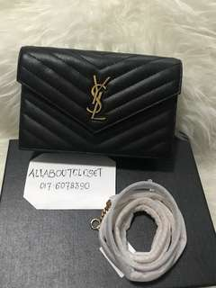 Customer's purchased. YSL sling bag 19cm