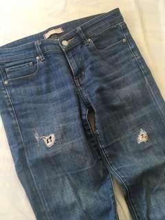 Uniqlo Slim Tapered Denim Jean Size 27