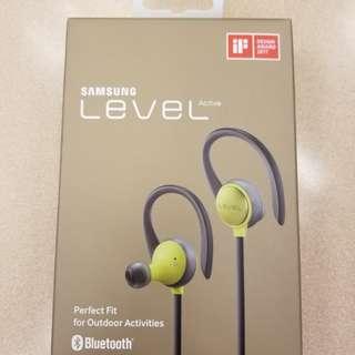 全新 Samsung Level Active 藍芽耳機 Bluetooth earphone