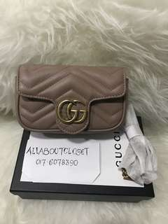 Customer's purchased, Gucci Marmont super mini