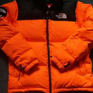 16FW Supreme x TNF/the north face聯名橙色衝鋒衣