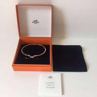 Hermès Clic H bracelet -noir GM