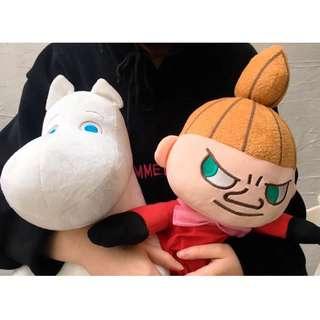 MOOMIN絨毛玩偶✨嚕嚕米&小不點款✨ 單選