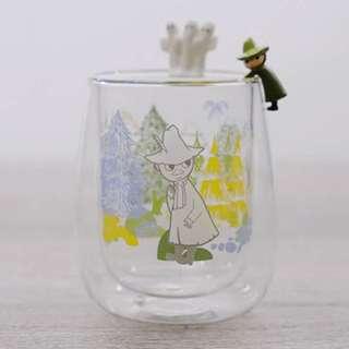 MOOMIN ✨雙層玻璃杯 嚕嚕米&小不點&阿金&溜溜們✨ 單選