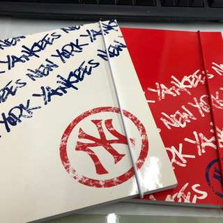 MLB Size A5 Notebook x2