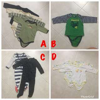Baby Long Sleeves Rompers / Sleepsuit / Bodysuit