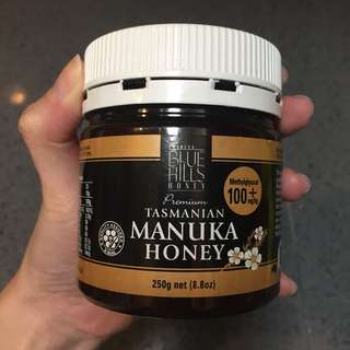 Manuka honey 100+ Tasmania Australia honey