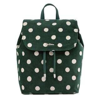 [preorder] Cath Kidston polka dot backpack