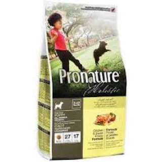PRONATURE   HOLISTIC PUPPY CHICKEN & SWEET POTATO 13.6kg