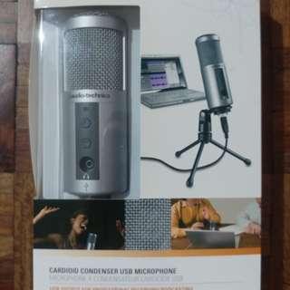 Audio Technica USB condenser mic
