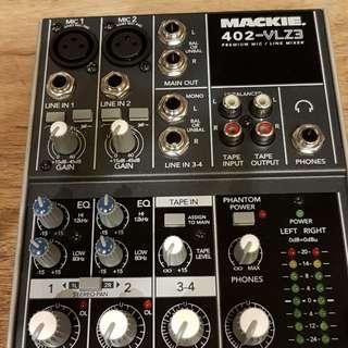 Mackie 402-VLZ3 四軌混音器