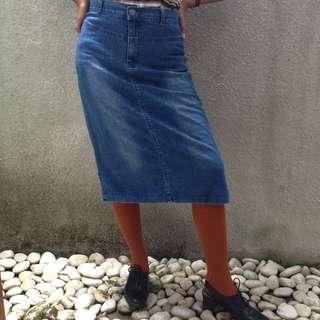 Ezpresso Jeans Skirt