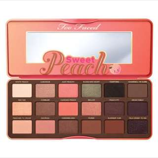 Too Faced Sweet Peach Palette - HIGH QUALITY