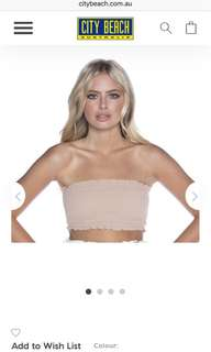 Felicity Tube Top Nude