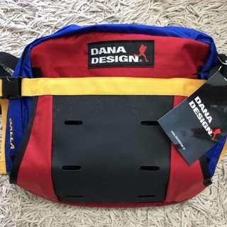 絕版日本Dana Design 腰包斜孭兩用袋