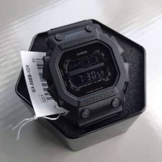 Most Popular GX56BB Casio Gshock King Stealth Black Tough Solar Series Brand New FREE DELIVERY Gx56