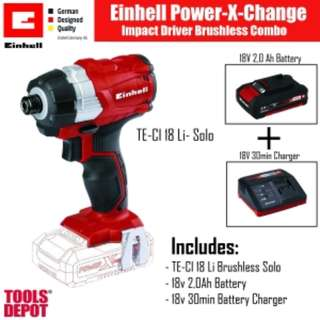 Einhell Power X-Change Impact Driver Combo