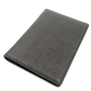 The Ninja Co. Passport Wallet Top Grain Leather Travel Card Holder Business Corporate Gifts Men Women Birthday Case NJ 8841