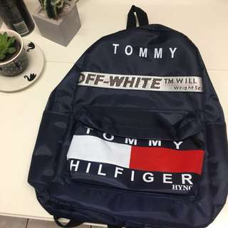 Tommy Hilfiger Off White Backpack