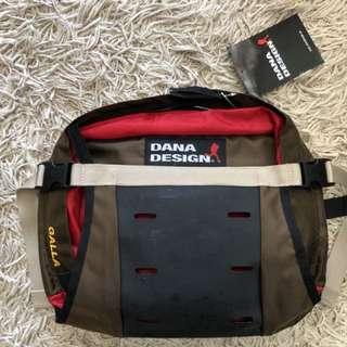 絕版日版Dana Design腰包斜孭兩用袋 (啡色)