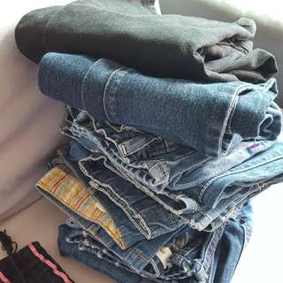 Jeans for girls age 7 to 10 years old