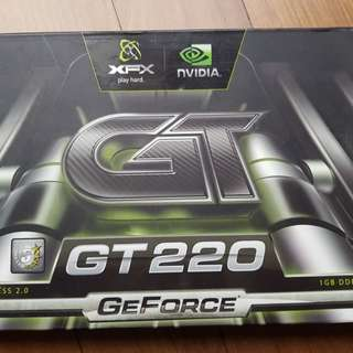 GT220 1 GB Graphics Card