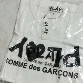 BNWT CDG PLAY SHIRT