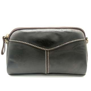 The Ninja Co. Sling Wallet Bag Top Grain Leather Card Holder Shoulder Handbag Purse Clutch Business Corporate Gifts Men Women Birthday NB 8806