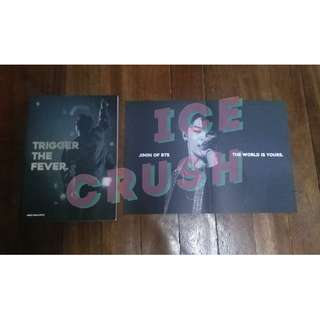 Miningful moment Trigger The Fever Photobook, Poster and DVD