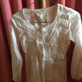 exit White Blouse